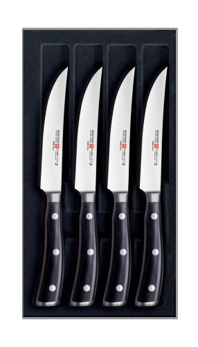 Wusthof Classic Ikon 4 pc. Steak Knife Set